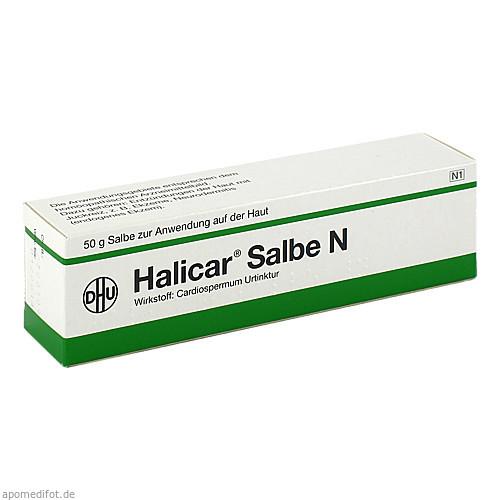 Halicar Salbe N, 50 G, Dhu-Arzneimittel GmbH & Co. KG