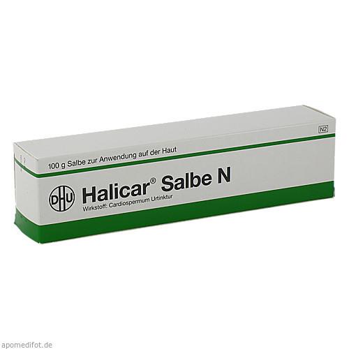 Halicar Salbe N, 100 G, Dhu-Arzneimittel GmbH & Co. KG