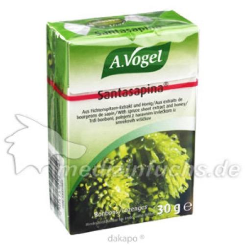 A.Vogel Santasapina Husten-Bonbons, 30 G, Kyberg experts GmbH