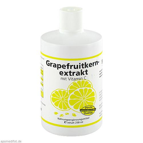 Grapefruitkernextrakt, 250 ML, Sanitas GmbH & Co. KG