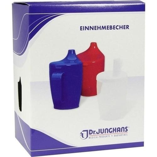 Einnehmebecher 2Griffe+Deckel 12mm milchig, 1 ST, Dr. Junghans Medical GmbH
