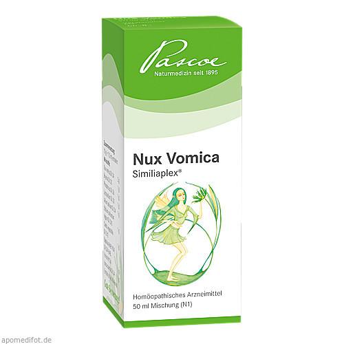 NUX VOMICA SIMILIAPLEX, 50 ML, Pascoe Pharmazeutische Präparate GmbH