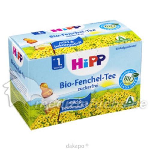 HIPP 3600 BIO-FENCHEL BTL-TEE, 20X1.5 G, Hipp GmbH & Co.Vertrieb KG