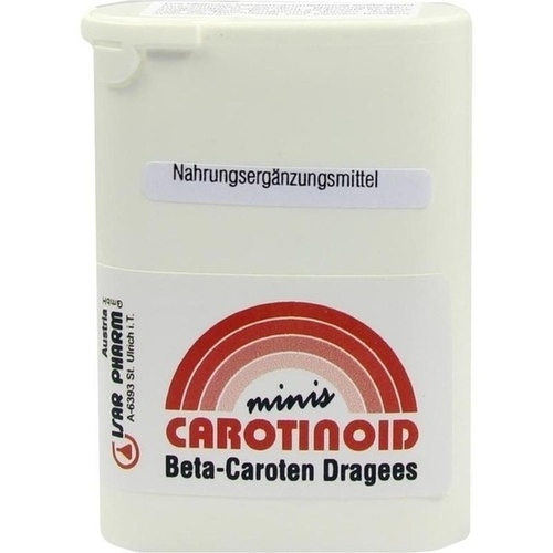 Carotinoid minis, 350 ST, Isar Pharm Austria Vertriebsges.Mbh
