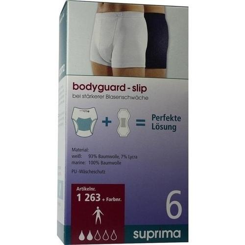 Suprima Slip body guard Art.1263 Gr.7 weiß, 1 ST, Suprima GmbH