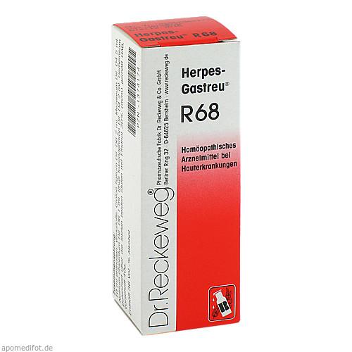 HERPES GASTREU R68, 22 ML, Dr.Reckeweg & Co. GmbH