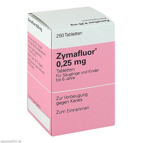 ZYMAFLUOR 0.25MG, 250 ST, Meda Pharma GmbH & Co. KG