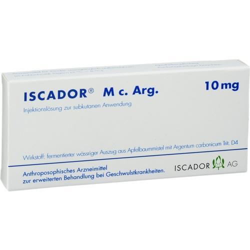 Iscador M c. Arg. 10mg, 7X1 ML, Iscador AG