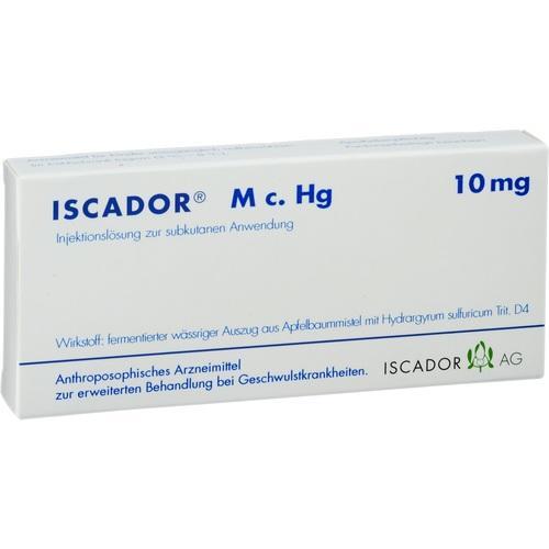 Iscador M c. Hg 10mg, 7X1 ML, Iscador AG
