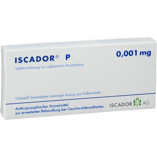 Iscador P 0.001mg, 7X1 ML, Iscador AG