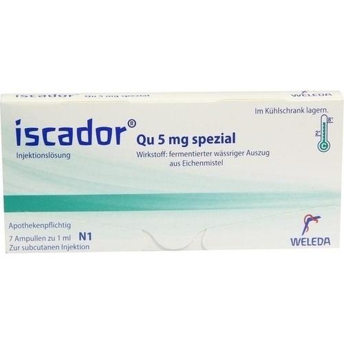 Iscador Qu 5mg spezial, 7X1 ML, Iscador AG