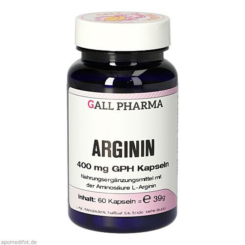 Arginin 400mg GPH Kapseln, 60 ST, Hecht-Pharma GmbH