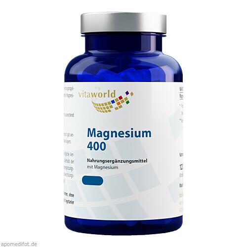 Magnesium 400, 60 ST, Vita World GmbH