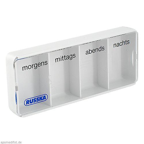 Tablettendose groß, 1 ST, RUSSKA LUDWIG BERTRAM GMBH