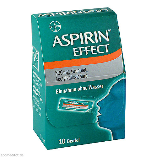 ASPIRIN EFFECT, 10 ST, Bayer Vital GmbH