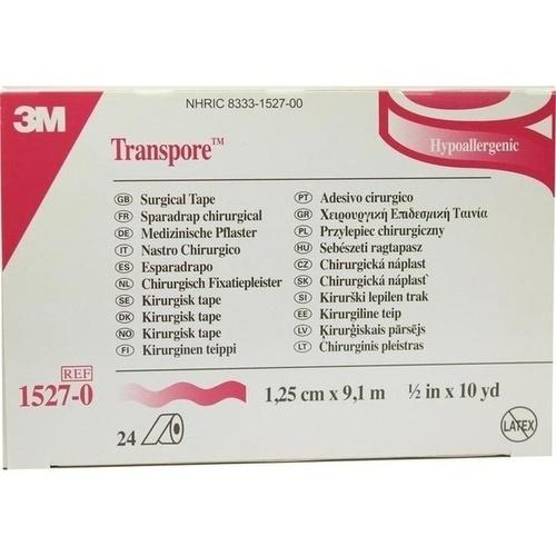TRANSPORE 9.10MX1.25CM, 24 ST, 3M Medica Zwnl.d.3M Deutschl. GmbH