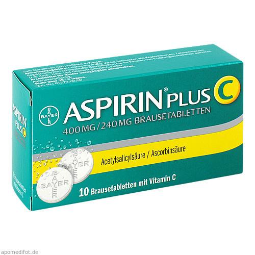ASPIRIN PLUS C, 10 ST, Bayer Vital GmbH