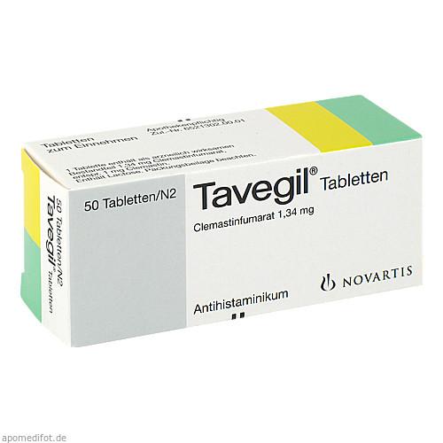 TAVEGIL, 50 ST, GlaxoSmithKline Consumer Healthcare