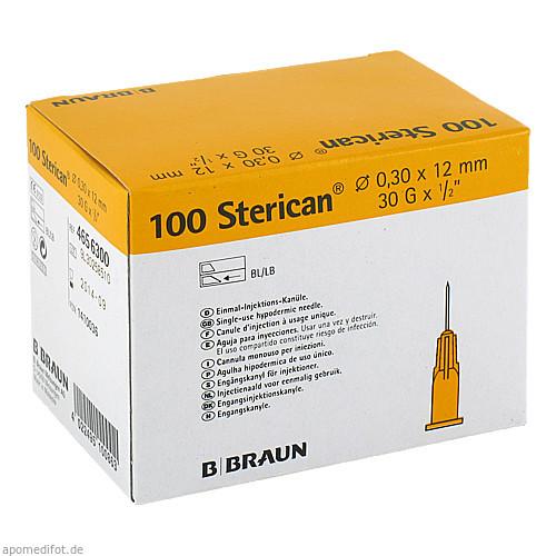 Sterican G30 0.30x12mm, 100 ST, B. Braun Melsungen AG
