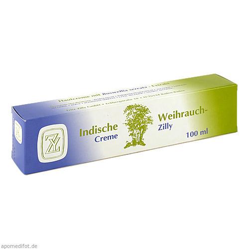 Indische Weihrauch Creme Zilly, 100 G, Fritz Zilly GmbH