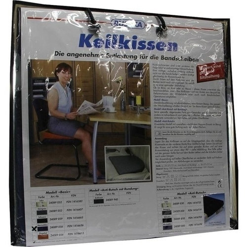 KEILKISSEN basic marineblau, 1 ST, LUDWIG BERTRAM GmbH