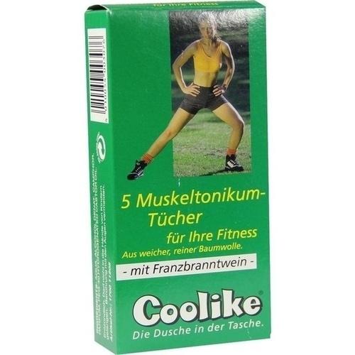 Coolike Muskeltonikum für Ihre Fitness mit FBW, 5 ST, Coolike-Regnery GmbH