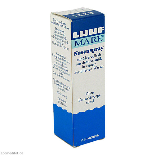Luuf MARE Nasenspray, 20 ML, Kyberg experts GmbH