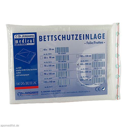 Bettschutzeinlage 100x200cm Folie/Frottee, 1 ST, Dr. Junghans Medical GmbH