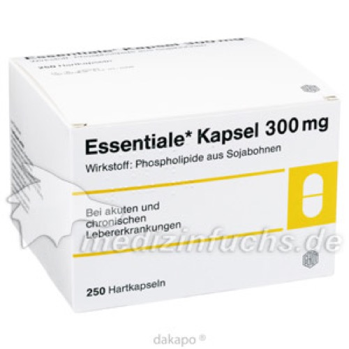Essentiale Kapseln 300 mg, 250 ST, Emra-Med Arzneimittel GmbH
