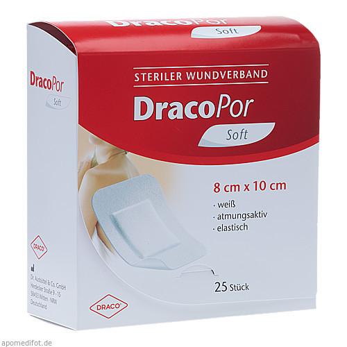 Dracopor Wundverband steril 10x8cm, 25 ST, Dr. Ausbüttel & Co. GmbH