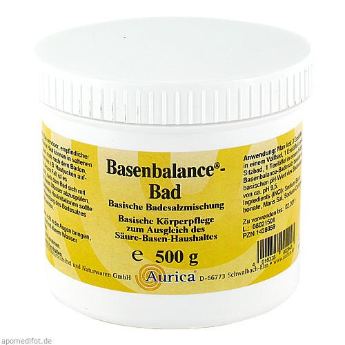 Basenbalance-Bad, 500 G, AURICA Naturheilmittel und Naturwaren GmbH