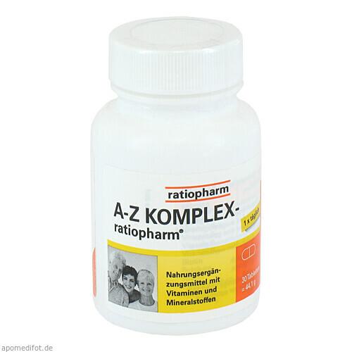 A-Z Komplex-ratiopharm, 30 ST, ratiopharm GmbH