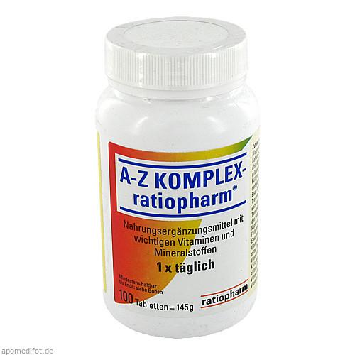 A-Z Komplex-ratiopharm, 100 ST, ratiopharm GmbH