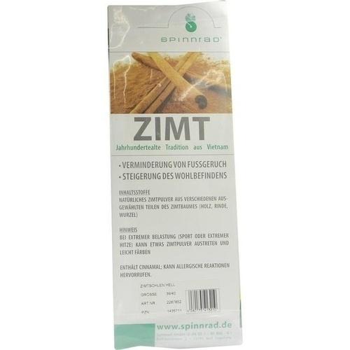 Zimtsohlen Hell 39/40, 2 ST, Spinnrad GmbH
