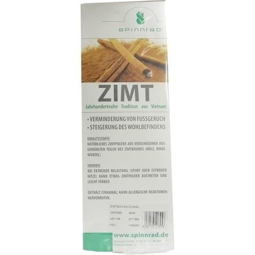 Zimtsohlen Dunkel 39/40, 2 ST, Spinnrad GmbH