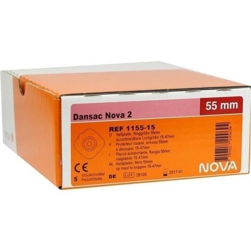 Dansac Nova2 Basisplatte 1155-15 Ring55/15-47 auss, 5 ST, Dansac GmbH