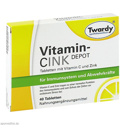 Vitamin-CINK Depot, 40 ST, Astrid Twardy GmbH