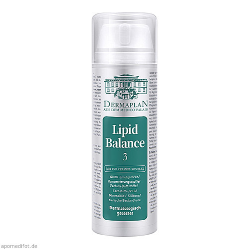 Dermaplan Lipid Balance 3, 150 ML, Imp GmbH International Medical Products