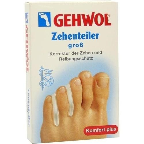 GEHWOL Polymer-Gel Zehenteiler groß, 3 ST, Eduard Gerlach GmbH