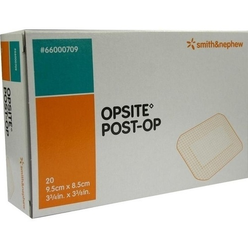 OpSite Post-Op 9.5cmx8.5cm einzeln steril New, 20X1 ST, Smith & Nephew GmbH