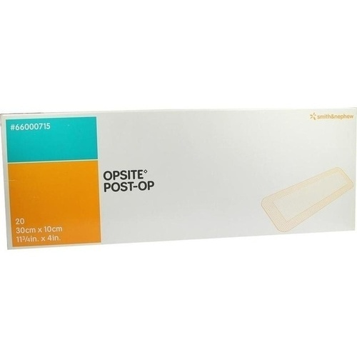 OpSite Post-Op 30cmx10cm einzeln steril New, 20X1 ST, Smith & Nephew GmbH