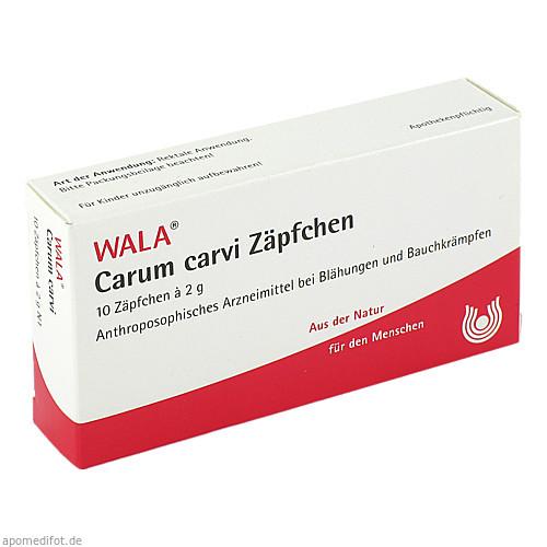 Carum carvi Zäpfchen, 10X2 G, Wala Heilmittel GmbH