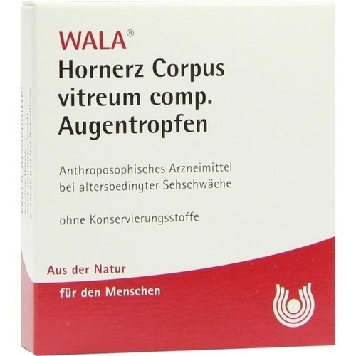 Hornerz Corpus vitreum comp. Augentropfen, 5X0.5 ML, Wala Heilmittel GmbH
