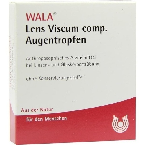 Lens Viscum comp. Augentropfen, 5X0.5 ML, Wala Heilmittel GmbH