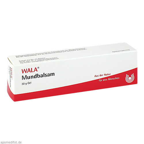 Mundbalsam, 30 G, Wala Heilmittel GmbH