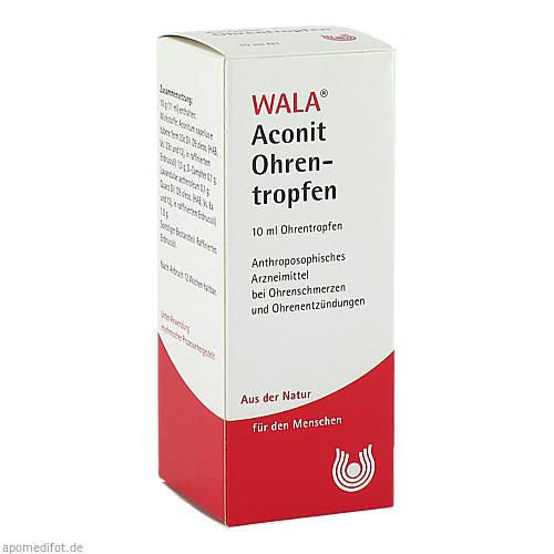 Aconit Ohrentropfen, 10 ML, Wala Heilmittel GmbH