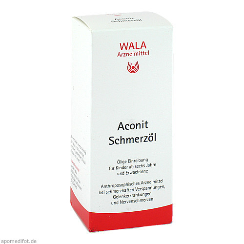 Aconit Schmerzöl, 100 ML, Wala Heilmittel GmbH