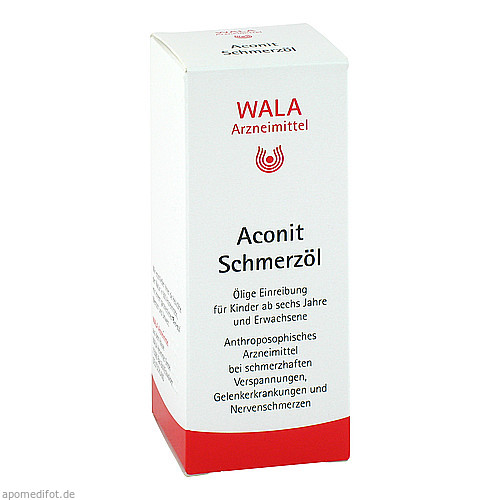 Aconit Schmerzöl, 50 ML, Wala Heilmittel GmbH
