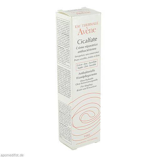 AVENE Cicalfate Antibakterielle Wundpflegecreme, 40 ML, Pierre Fabre Pharma GmbH