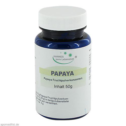 Papaya Frucht Pulver, 50 G, G & M Naturwaren Import GmbH & Co. KG
